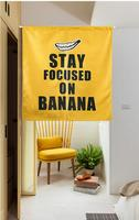 Nordic Shading Banana Door Window Screen Hanging Curtain Home Decoration Bedroom Living Study Room Kitchen Cafe