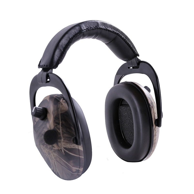 Noise Reduction Ear Protector Industry Electronic Damper Built-in Battery Head-Mounted Headphones Work Hearing Protector Sale