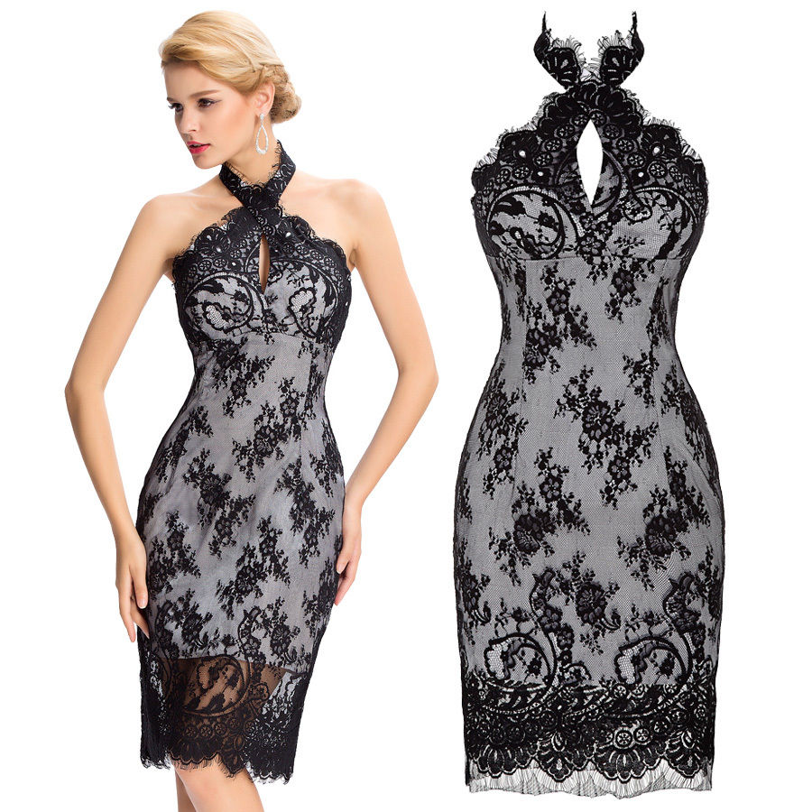 Compare Prices on Black Cocktail Gown- Online Shopping/Buy Low ...