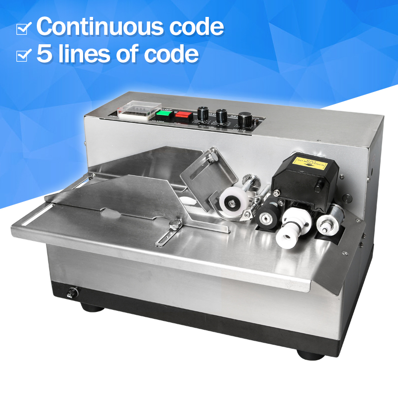 ZONESUN MY-380F Semi Automatic Solid Ink Date Coding Machine, automatically continuous date coding machine new my 380f ink wheel coding machine ink wheel marking machine automatically continuous marking machine 180w 220v 110v 50hz 60hz