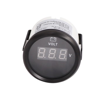 Digital Voltmeter  8~32V Meter With Backlight fit Car Boat Truck Motorcycle Marine Volt Gauge