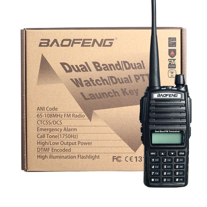 Portable Radio BaoFeng UV 82 5W 10KM Walkie Talkie amateur radio Pofung handie talkie uv 82