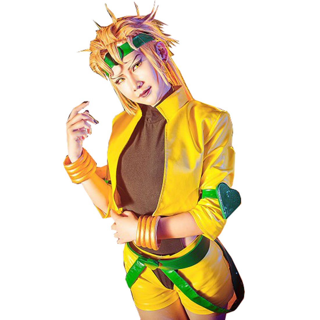 2019 JoJo's Bizarre Adventure Movie Dio Brando Cosplay Costume Women Version