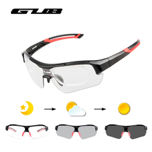 GUB Photochromic Bicycle Cycling Glasses Eyewear Outdoor Sport Protection Sunglasses Unisex MTB Mountain Bike Goggles 3 Colors