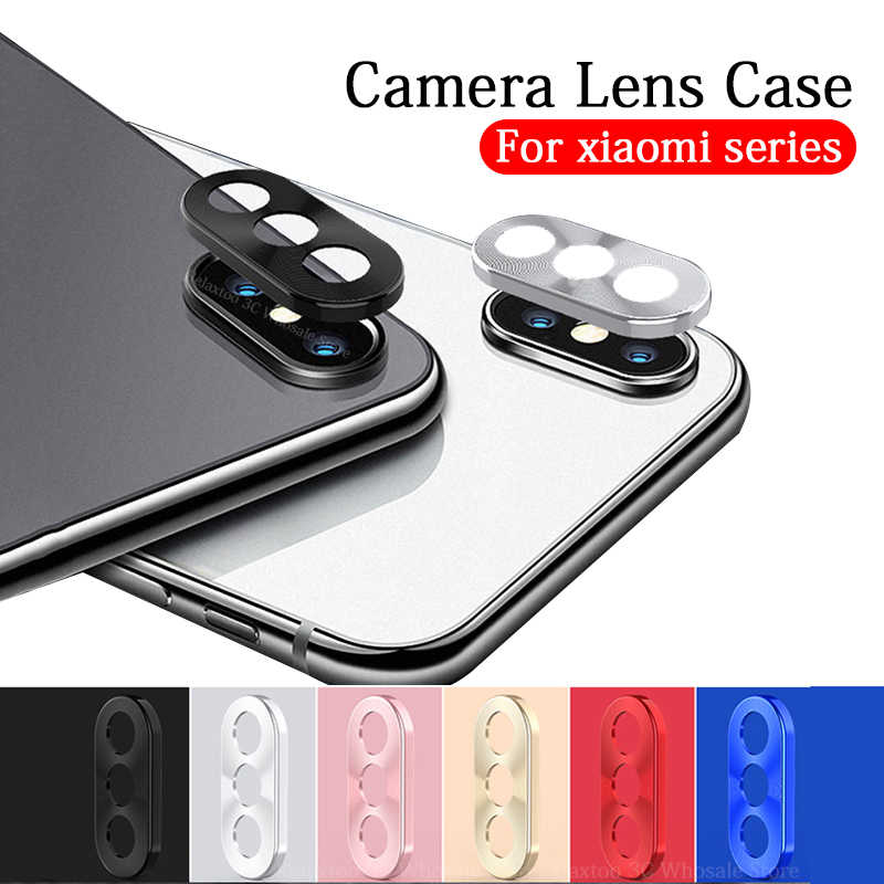 Camera Lens Protective Ring For Xiaomi Mi 9 8 SE 6x mix 3 Redmi Note 7 Pro Metal Real Mobile Phone Camera Protector Cover Case
