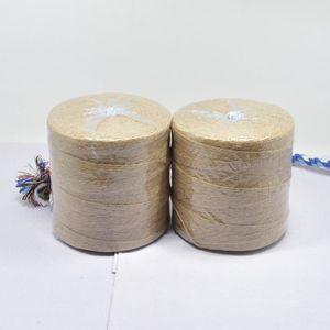 Image 5 - 500 หลาธรรมชาติ Burlap Hessian Jute Twine สายไฟกัญชาเชือกงานแต่งงานของขวัญห่อสาย DIY Scrapbooking Craft Decor