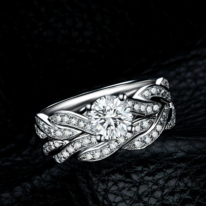 jewelrypalace infinity simulated diamond anniversary