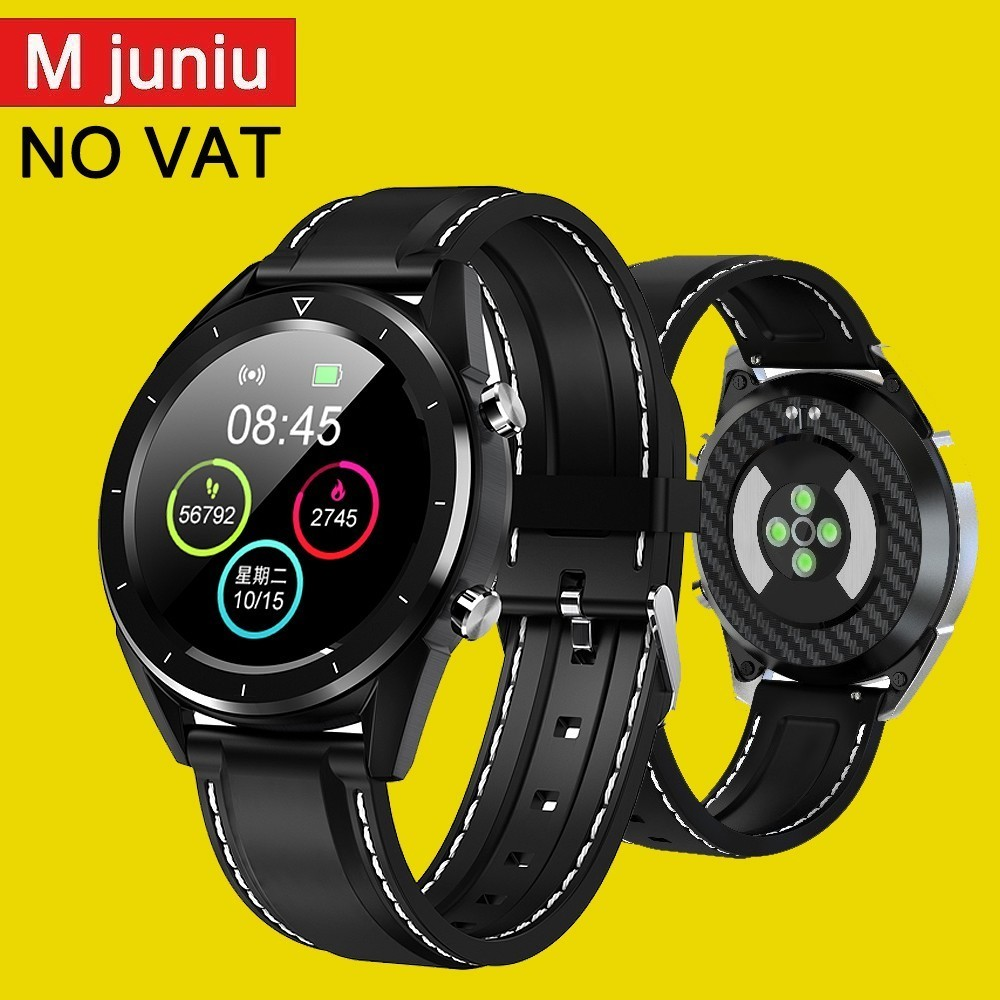 Dt28 Men Smart Watch Ip68 Waterproof Watch Payment Ecg Heart Rate Monitor Fitness Tracker Wristband Smart Band KSR901-in Smart Watches from Consumer Electronics    1