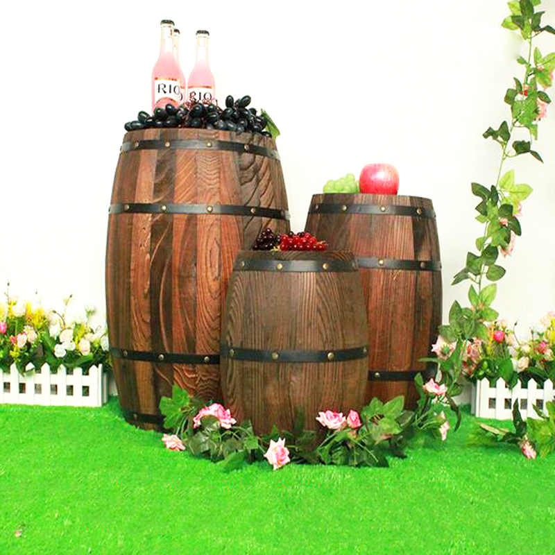 how to make a prop wine barrel