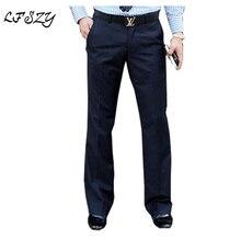 Новинка, мужские расклешенные брюки, формальные брюки, расклешенные брюки, танцевальный белый костюм, мужские брюки, большие размеры 28-35, 36, 37