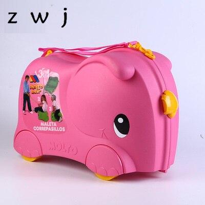 어린이 장난감 트롤리 가방 수하물 가방 바퀴 여행 소년 소녀 가방을 타고 수 있습니다-에서롤링 짐부터 수화물 & 가방 의  그룹 1