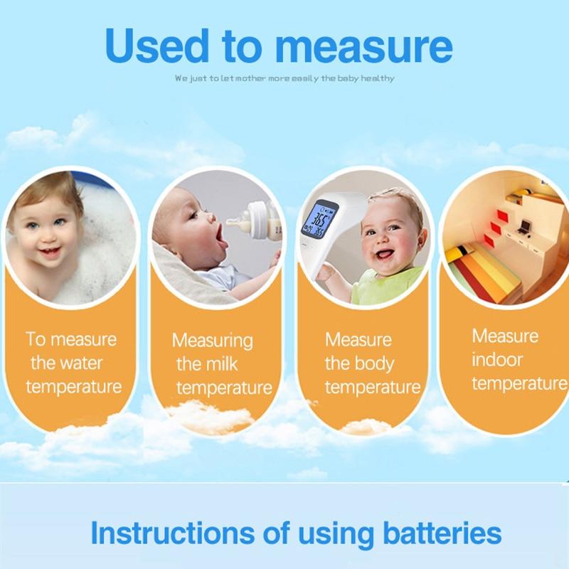 2019 termômetro infravermelho para crianças termômetro digital