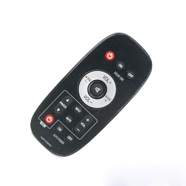 3de04916f16 Original para LG AKB73598401 barra de sonido Control remoto genuino para  NB2020A. DGBRLLK NB2020ADGBRLLK UESD