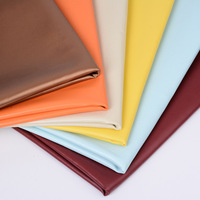 2017 New Eco Friendly PU Leather Fabric Brown Faux Leather Fabric For Home Decoration DIY Handcraft