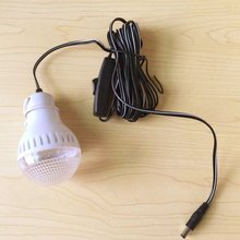 Boguang 5W solar LED light bulb, 9V 12V optionally.