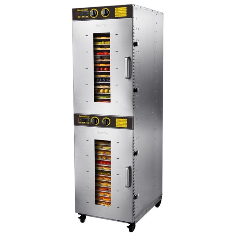 Secador de Máquina de Secagem de Alimentos comerciais para Frutas e Legumes Desidratador 32 Camadas ST-32 Equipamento De Desidratação De Alimentos