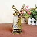 Мини-прекрасный тонкий классические коллекционные ремесленная современная home decor Голландская мельница модель модель здания игрушки для детей