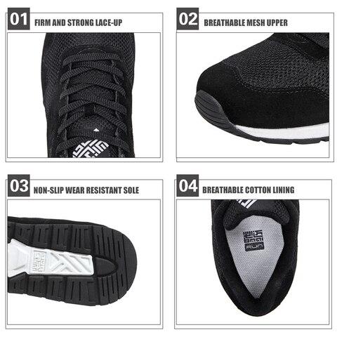 Couple Retro Classic Running Shoes Non-slip Cushioning Jogging Sport Shoes Breathable Light Man Designer Sneakers Size 35-46 Multan