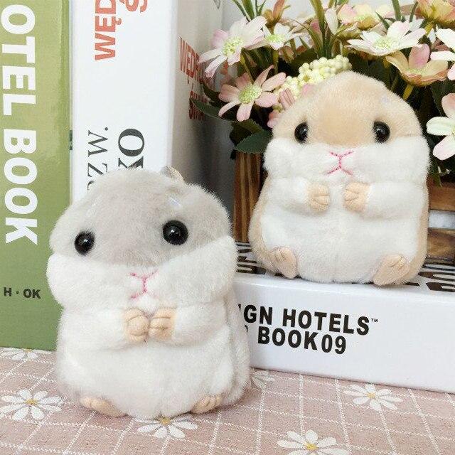 Nooer Goedkope Prijs 10 Cm Kawaii Hamster Hanger Knuffels Leuke