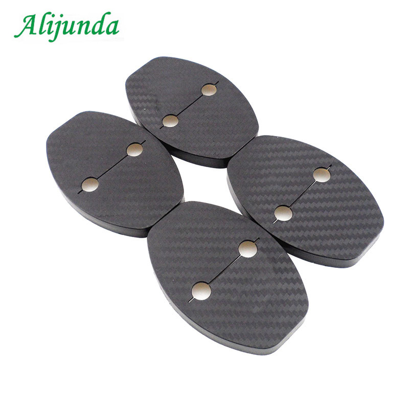 2PCs Door Lock Protective Cover Kit For Cayenne 911 Boxste Cayman