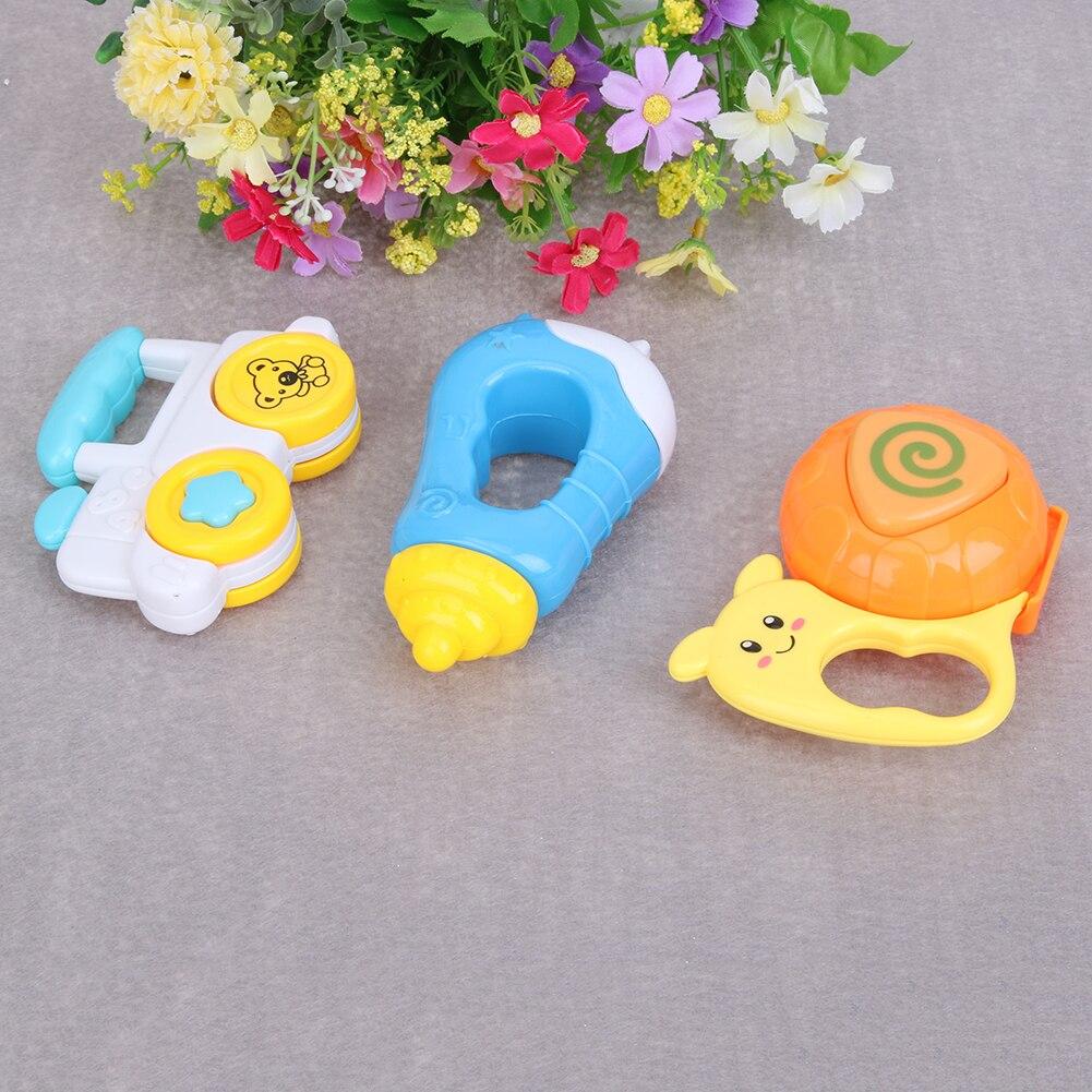 3 stks Baby Handbellen Baby Cartoon Handbellen Developmental - Speelgoed voor kinderen - Foto 3