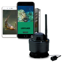 LUCKY FF3309 Wifi 80M Range Underwater Camera Fish Finder Wireless Submarine Fish Inspection Compatible With Android