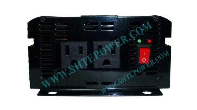 DC12V для AC120V инвертор с чистым синусом 1KW Солнечный автономный Мощность инвертор