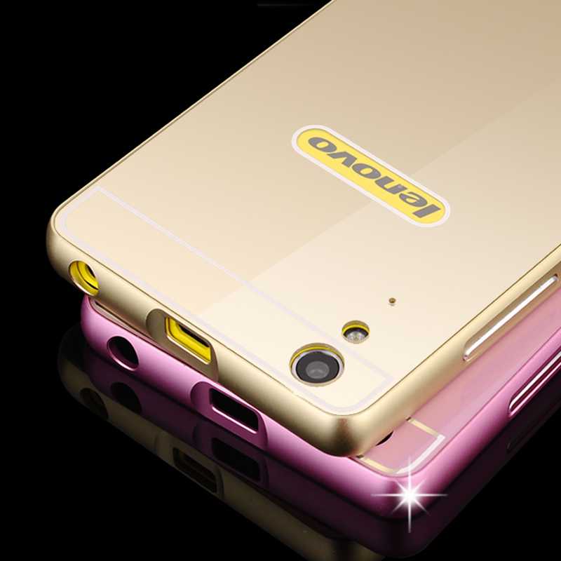 Ultra Thin Metal Aluminum Fashion Case For Lenovo Lemon K3 A6000