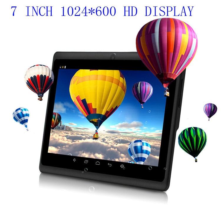 7 POUCE Enfants Tablet PC Android 4.4 WIFI D'apprentissage Machine Double Caméra 8 GB 1.2 GHz