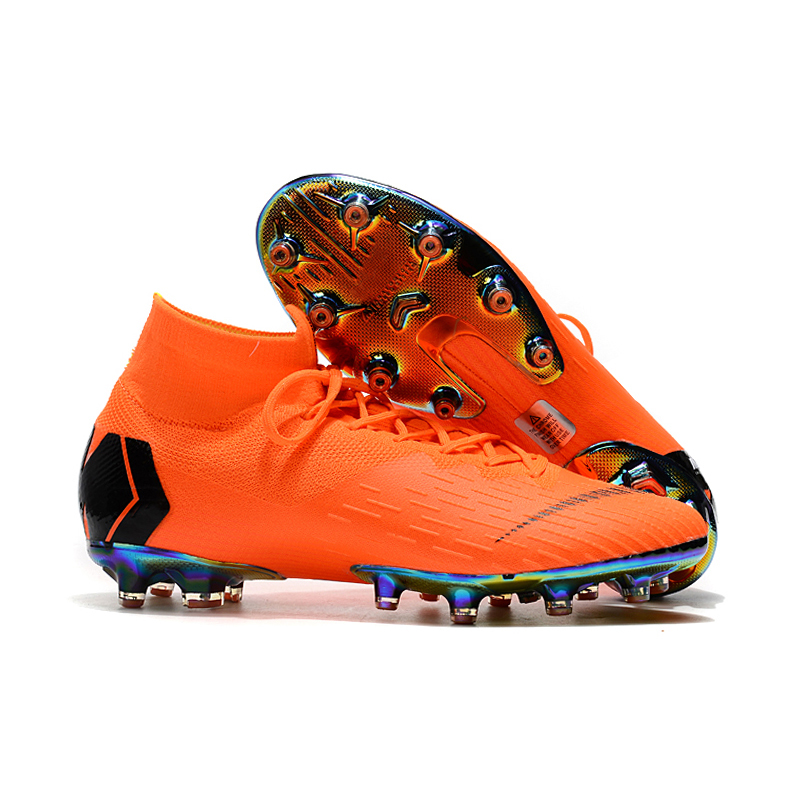 sufei Soccer Shoes Superfly XII Professional AG Football Boots VI Original Artificial Grass Cheap Soccer Cleats Wholesale