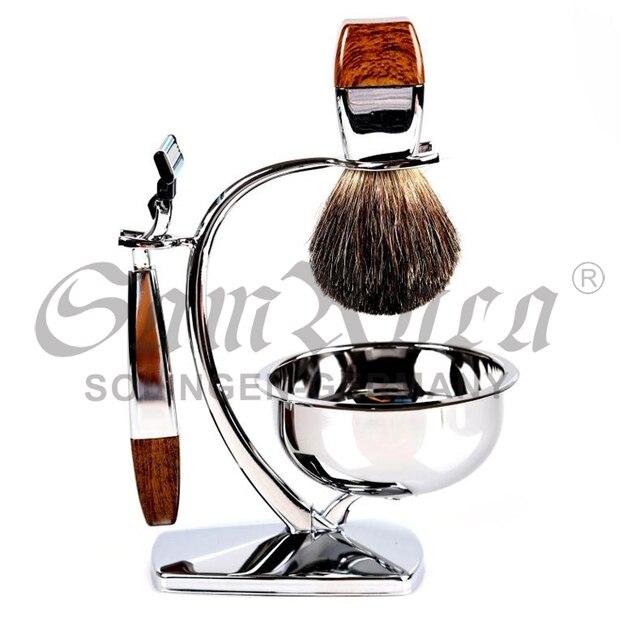207d8d64fba8 Foreign trade last single men razor shaving set Travel razor suits  Valentine birthday gift