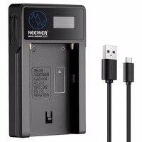 Neewer Micro ładowarka usb do akumulatorów Sony NP F550/F750/F960/F970  NP FM50/FM70/FM90  QM71D  91D  np f500h/F55H w Ładowarki do aparatu od Elektronika użytkowa na
