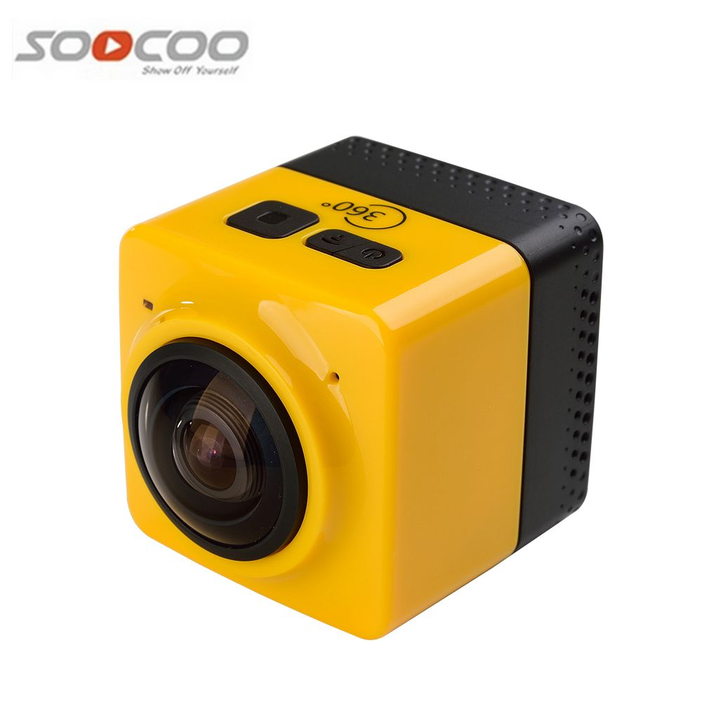 2016 New Arrival Cub e 360 Sports Video Camera WIFI H.264 1280*1042 360 Degrees Panorama Camera With Built-in Battery WiFi App new lone wolf and cub v 7