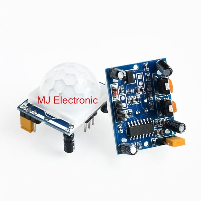 US $5 4 |High Quality HC SR501 Infrared PIR Motion Sensor Module For  Arduino Raspberry pi-in Sensors from Electronic Components & Supplies on
