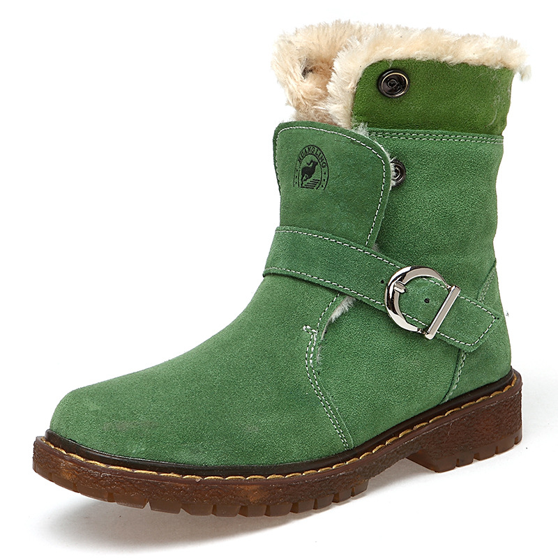 Winter For 30 Degree Russia Children's Shoes Snow Martin Boots for Girls Boys Flat Waterproof Outdoor Warm Kids Boots
