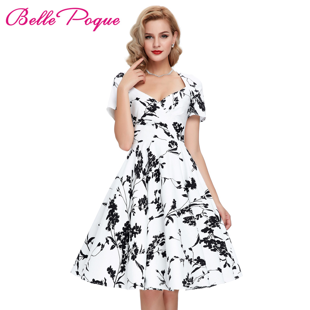 Casual Retro Women Dresses Rinup Rockabilly 50s Vintage ...