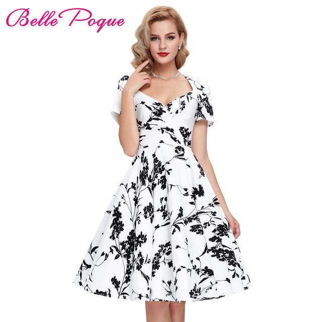 8ea754718 placeholder Casual Retro Women Dresses Rinup Rockabilly 50s Vintage Dress  Floral Summer Dress Short Sleeve Hollow Vestidos