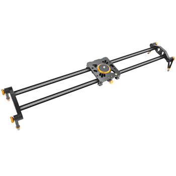 Neewer Carbon Fiber Camera Track Slider Video Stabilizer Rail with 6 Bearings for Canon/Nikon/Pentax DSLR DV yongnuo yn300 iii led camera video light with 5500k color temperatur e and adjustable brightness for canon nikon pentax olympas
