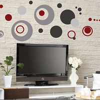 Circles Wall Stickers Dots Wall Decal Home Decor For Living Room Bedroom Colorful Wall Art 2112