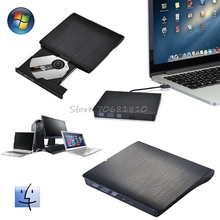 USB 3.0 LightScribe DVD-ROM CD-RW DVD-RW Burner External Drive For PC Laptop  Drop Shipping