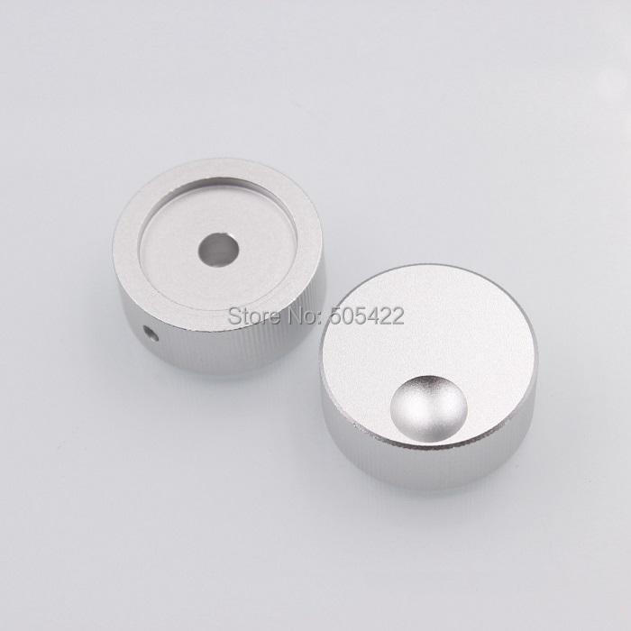 High Quality Machined Solid Aluminum Knob For Radio Speaker DAC Amplifier Volume 32 13mm DHL Shipping