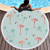 Round Patterned Beach Towel - Cover-Up - Beach Blanket 18