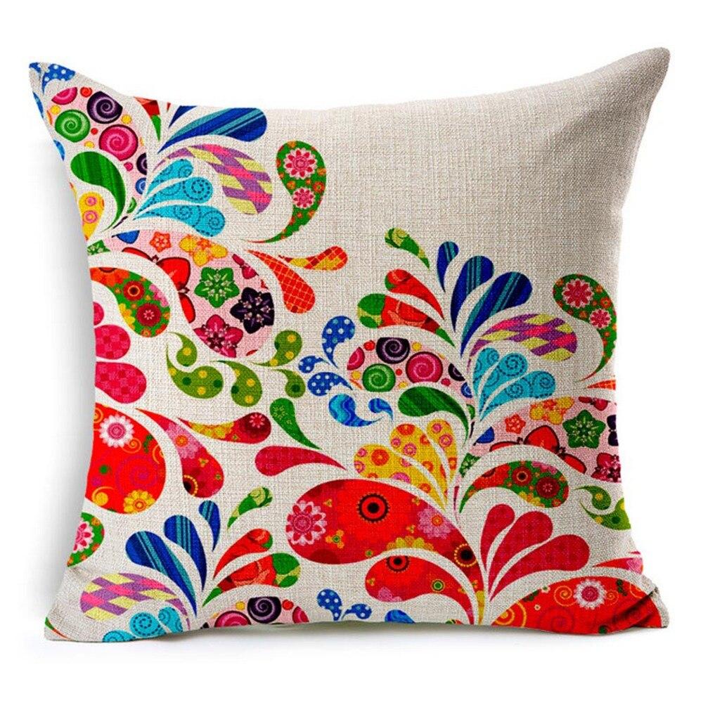 Blume Baum Schmetterling Mädchen Dekorative Sofa Dekokissen Für Wohnzimmer  Terrasse Kissen Baumwolle Leinen Mode Dekor Kissen