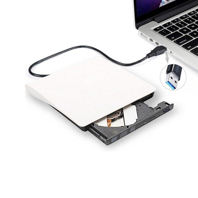 USB 3.0 Bluray DVD/BD-ROM CD/DVD RW Graveur Lecteur Écrivain Jouer 3d film lecteur de DVD externe Portable pour Windows 10/Macbook OS