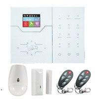 Фокус Wi Fi сигнализация GSM GPRS сигнализация для домашней безопасности Защита умная охранная сигнализация Встроенный датчик температуры