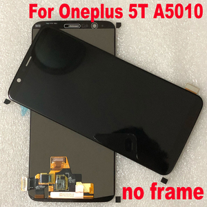 Image 3 - Original Best Working Sensor For Oneplus 5T A5010 1+5T Super Amoled LCD screen display touch panel digitizer assembly with frame