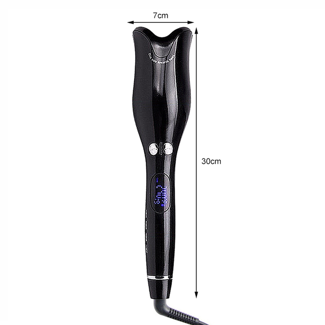 Automatic Hair Curler Wand Curl 360 Degree Magic Roller Curling Iron Rotating Spin Ceramic Salon Hair Styling Tools Dropship 2