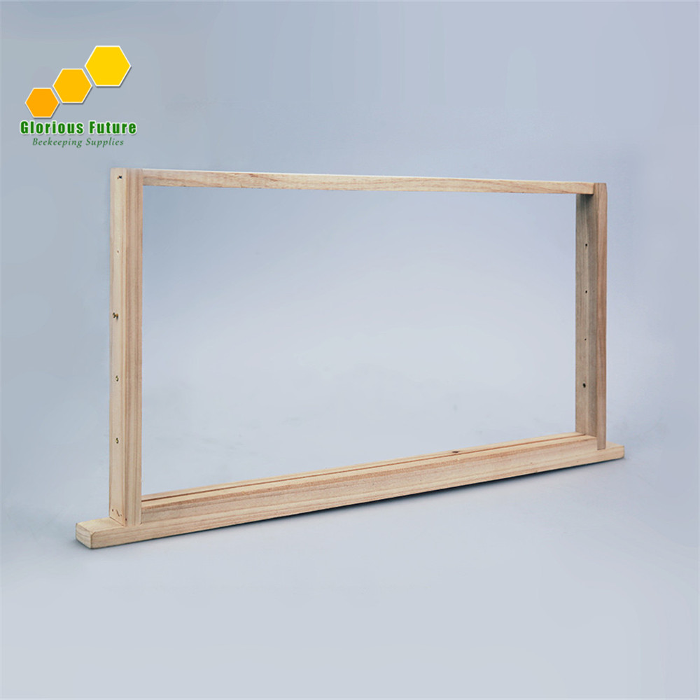 8Pcs Frames Of Beehive Unassembled Frame Langstroth Bee Hive Box Frames