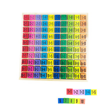99 Multiplication Table Learning Education Wooden Toys Mathe