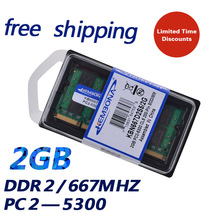 KEMBONA Brand New Sealed SODIMM DDR2 667Mhz 2GB PC2-5300 memory for Laptop RAM,good quality!compatible with all motherboard!